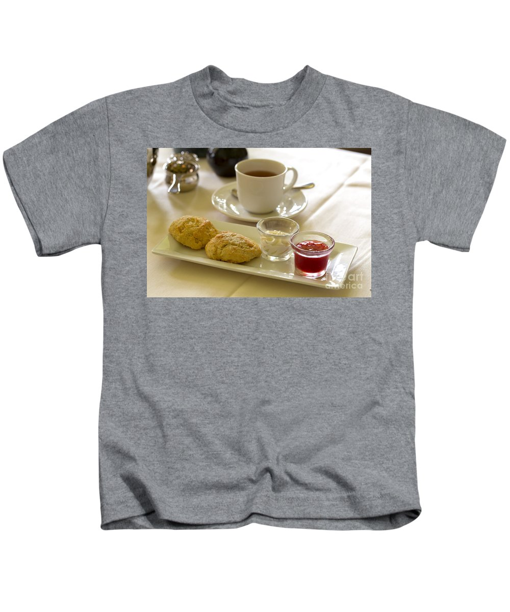 Afternoon Kids T-Shirt featuring the photograph Afternoon Tea by Louise Heusinkveld