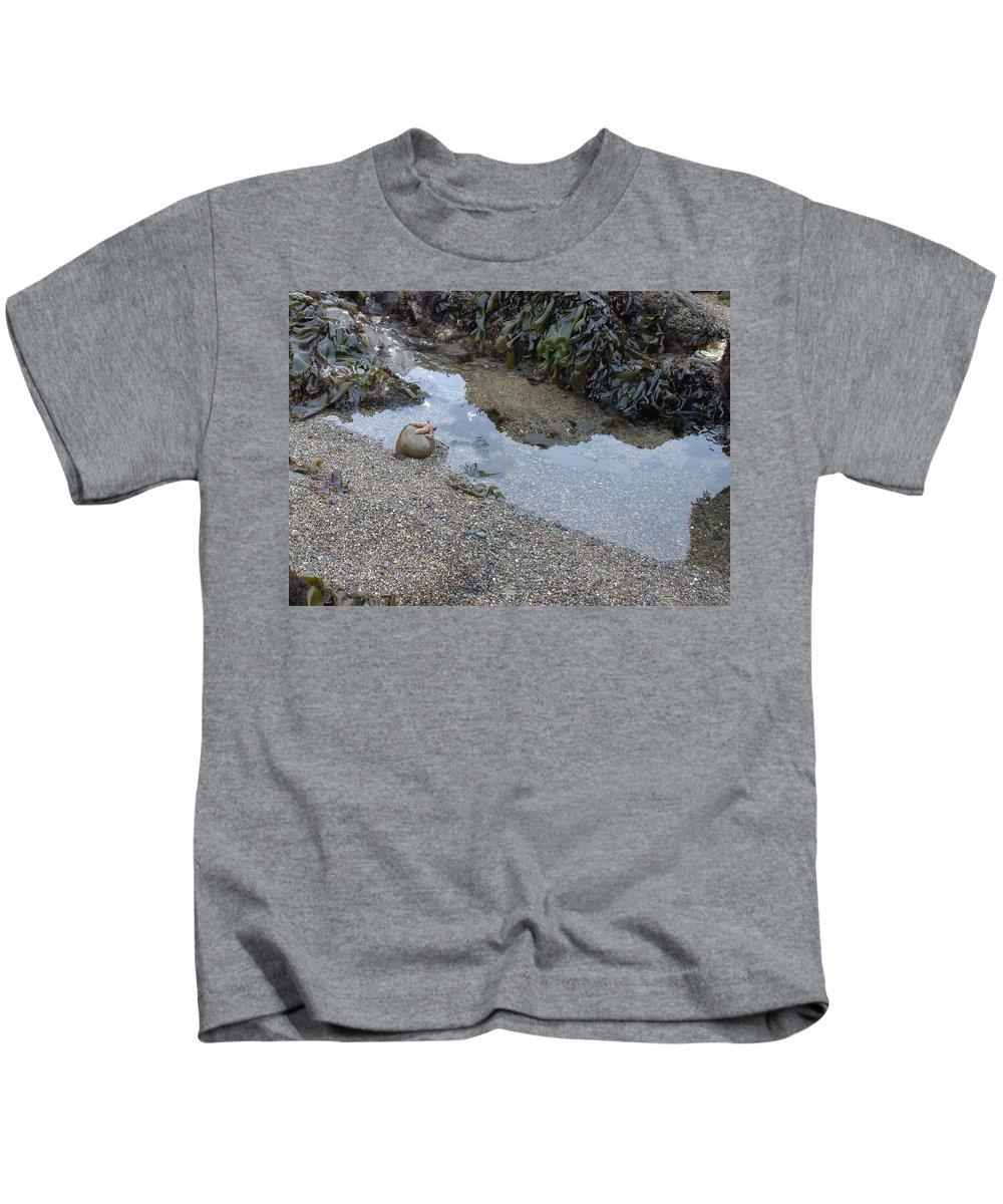 Starfish Kids T-Shirt featuring the photograph Alone by Bradley Bennett