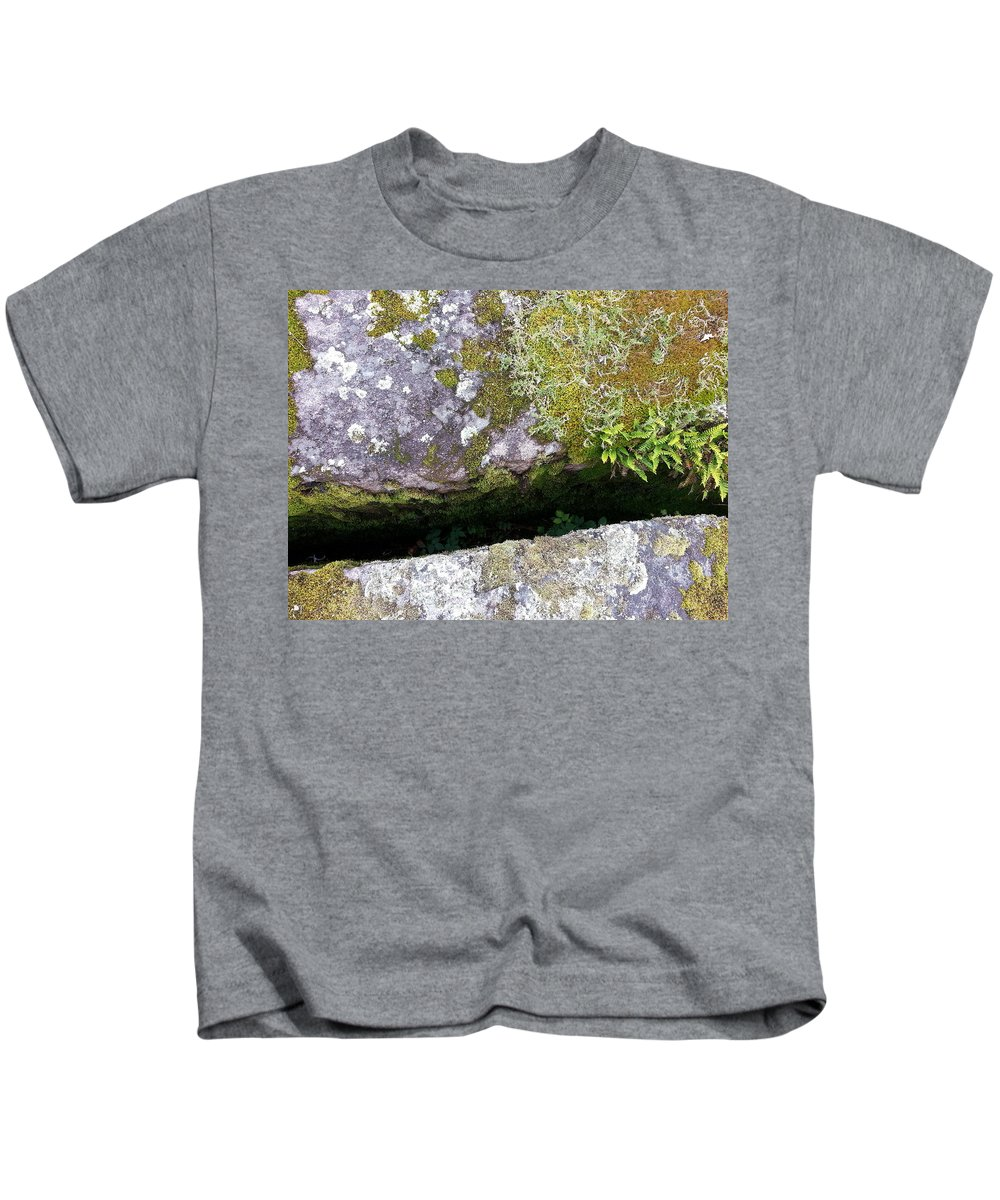 Moss Kids T-Shirt featuring the photograph Another World Series 8 by Joanne Smoley