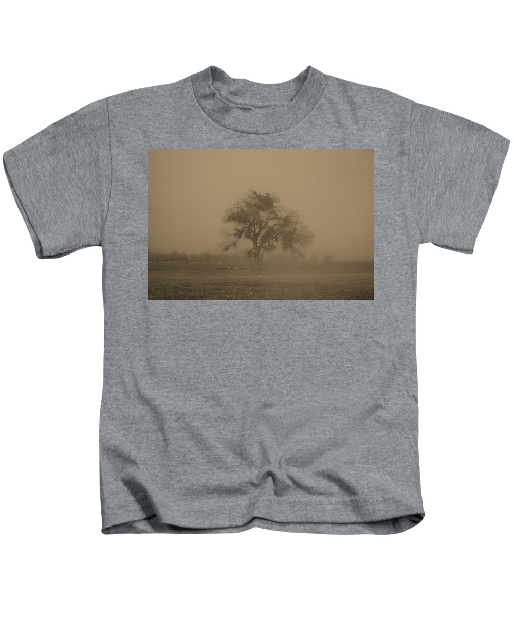 Tree Kids T-Shirt featuring the photograph Antique Tree by Diana Hughes