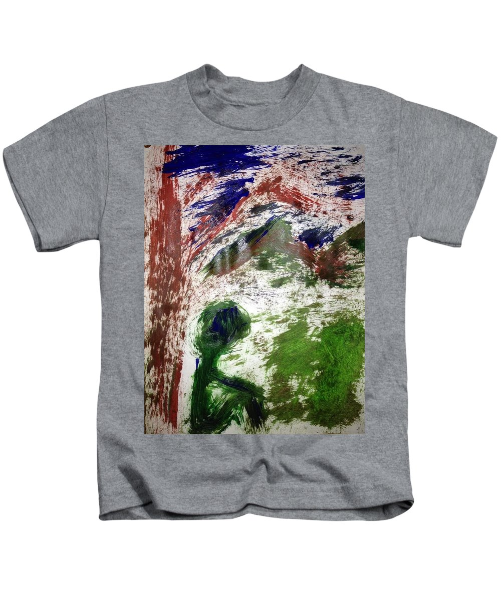 Tree Kids T-Shirt featuring the photograph Art Therapy 172 by Michele Monk