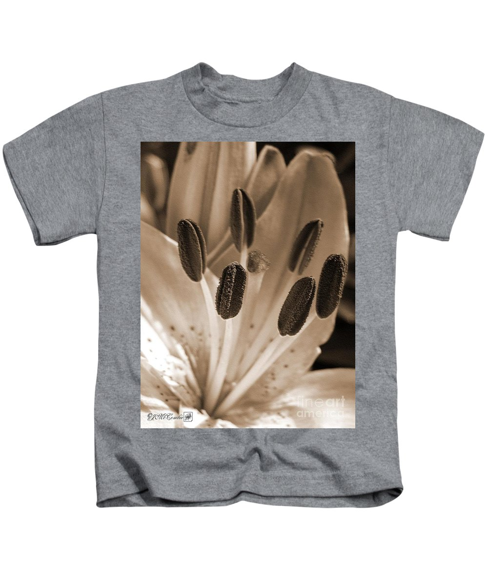 Asiatic Lily Kids T-Shirt featuring the photograph Asiatic Lily Named Vermeer by J McCombie