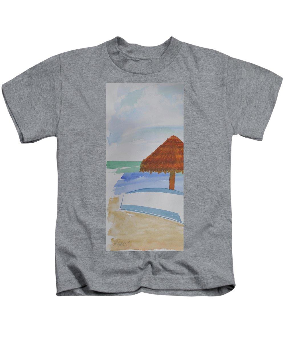 Baja Kids T-Shirt featuring the photograph Baja by Kimberly Maxwell Grantier