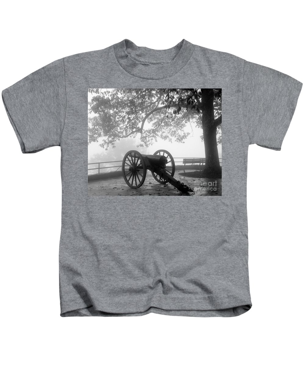Civil War Kids T-Shirt featuring the photograph Battle Above The Clouds Revisited by Cheryl Hardt Art