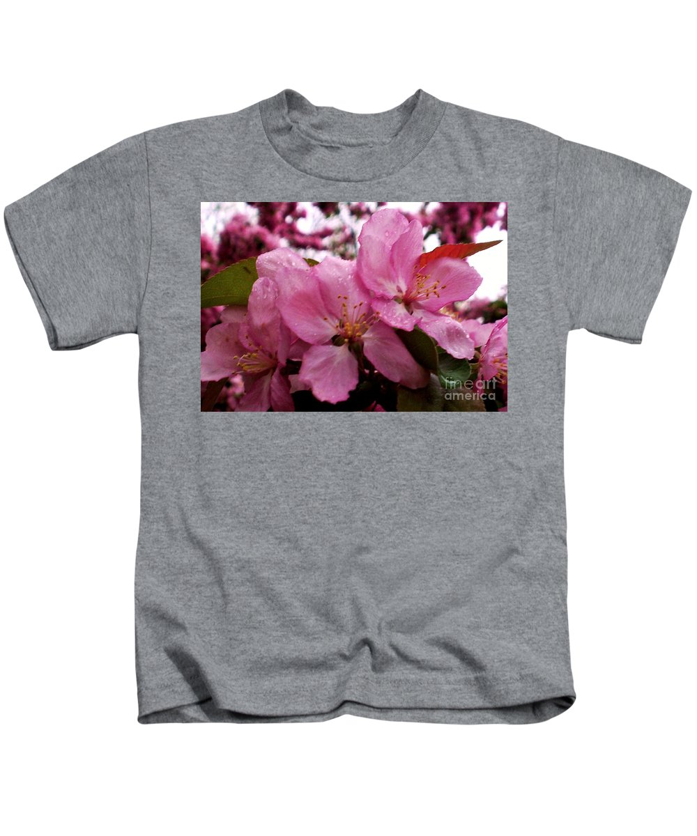 Spring Kids T-Shirt featuring the photograph Blossom Time by Desiree Paquette