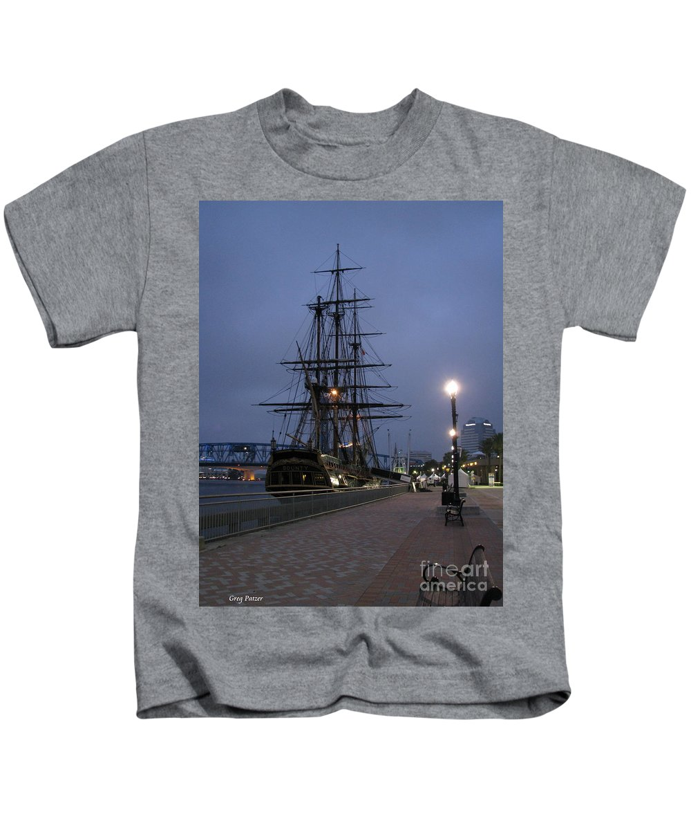 Patzer Kids T-Shirt featuring the photograph Bounty by Greg Patzer