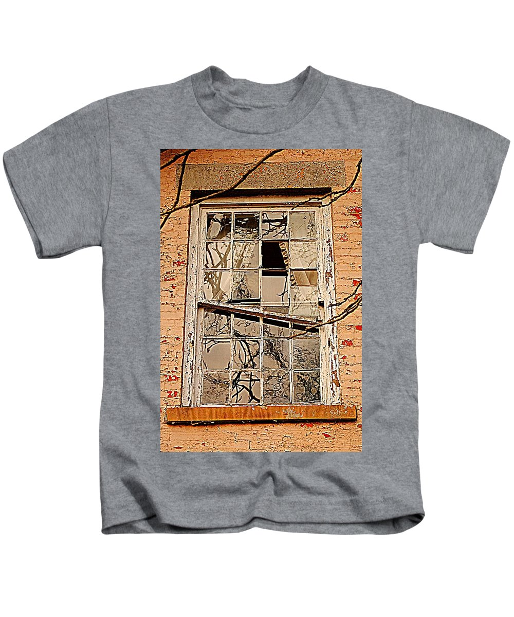 Dream Kids T-Shirt featuring the photograph Broken Dreams by Frozen in Time Fine Art Photography