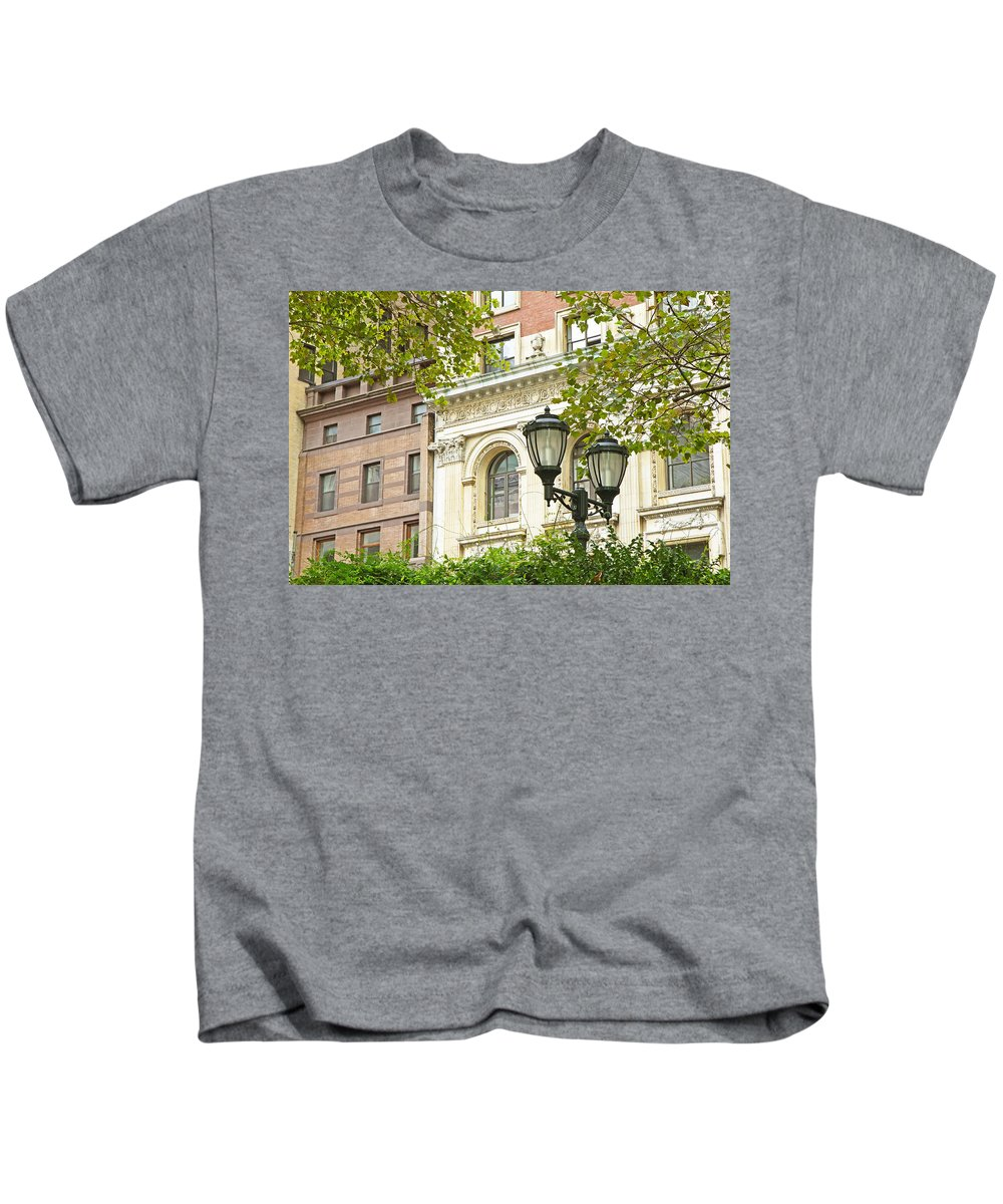 Park Kids T-Shirt featuring the photograph Bryant Park by Jaroslav Frank