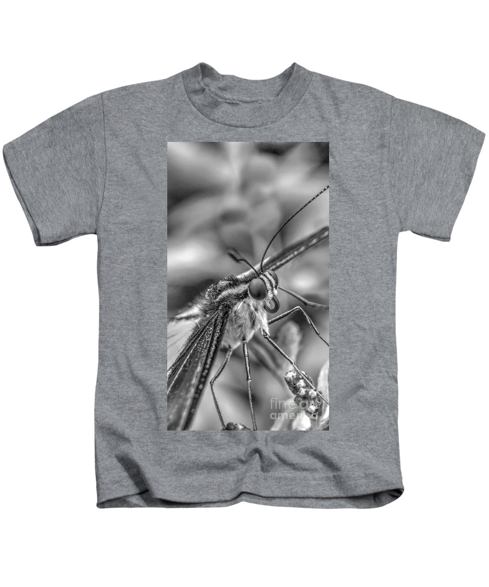 Lepidoptera Kids T-Shirt featuring the photograph Butterfly by MSVRVisual Rawshutterbug