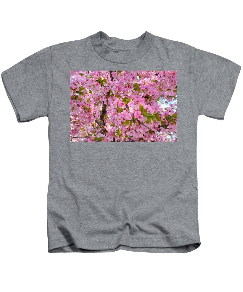 Architectural Kids T-Shirt featuring the photograph Cherry Blossoms 2013 - 097 by Metro DC Photography