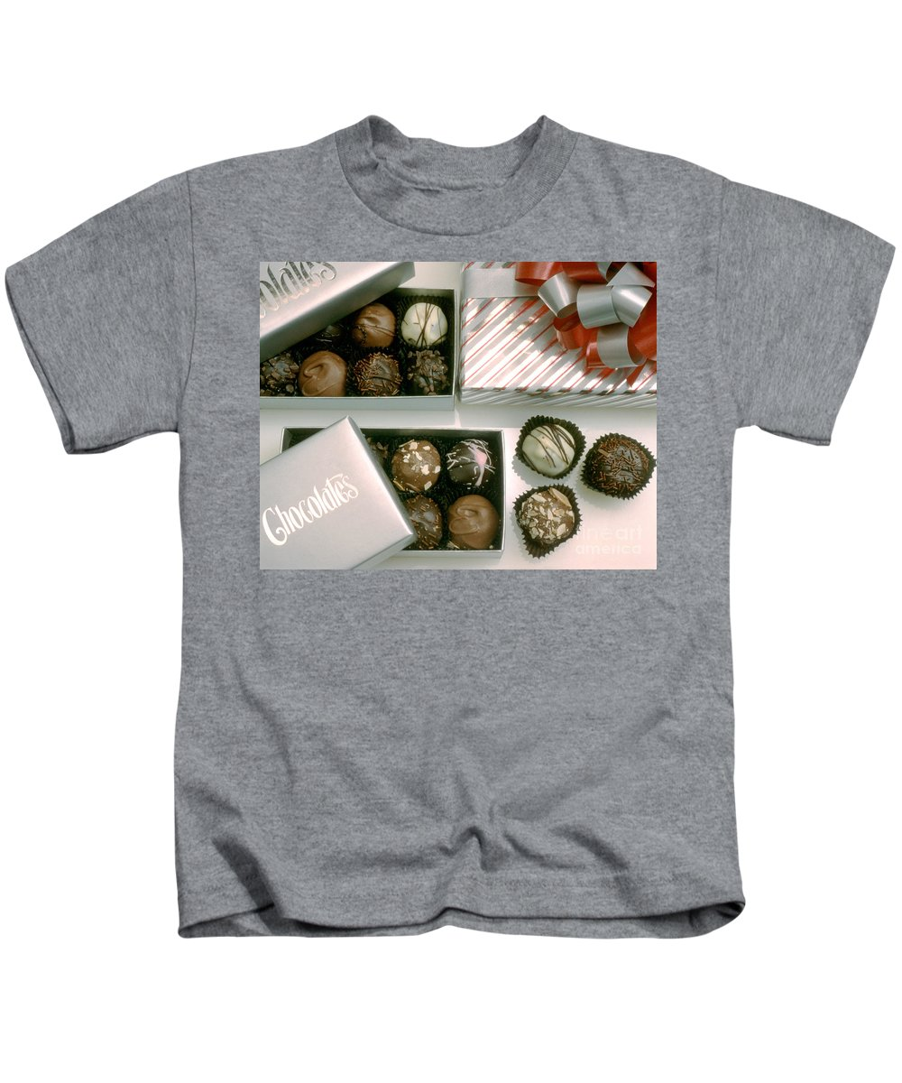 Christmas Kids T-Shirt featuring the photograph Chocolate by Jerry McElroy