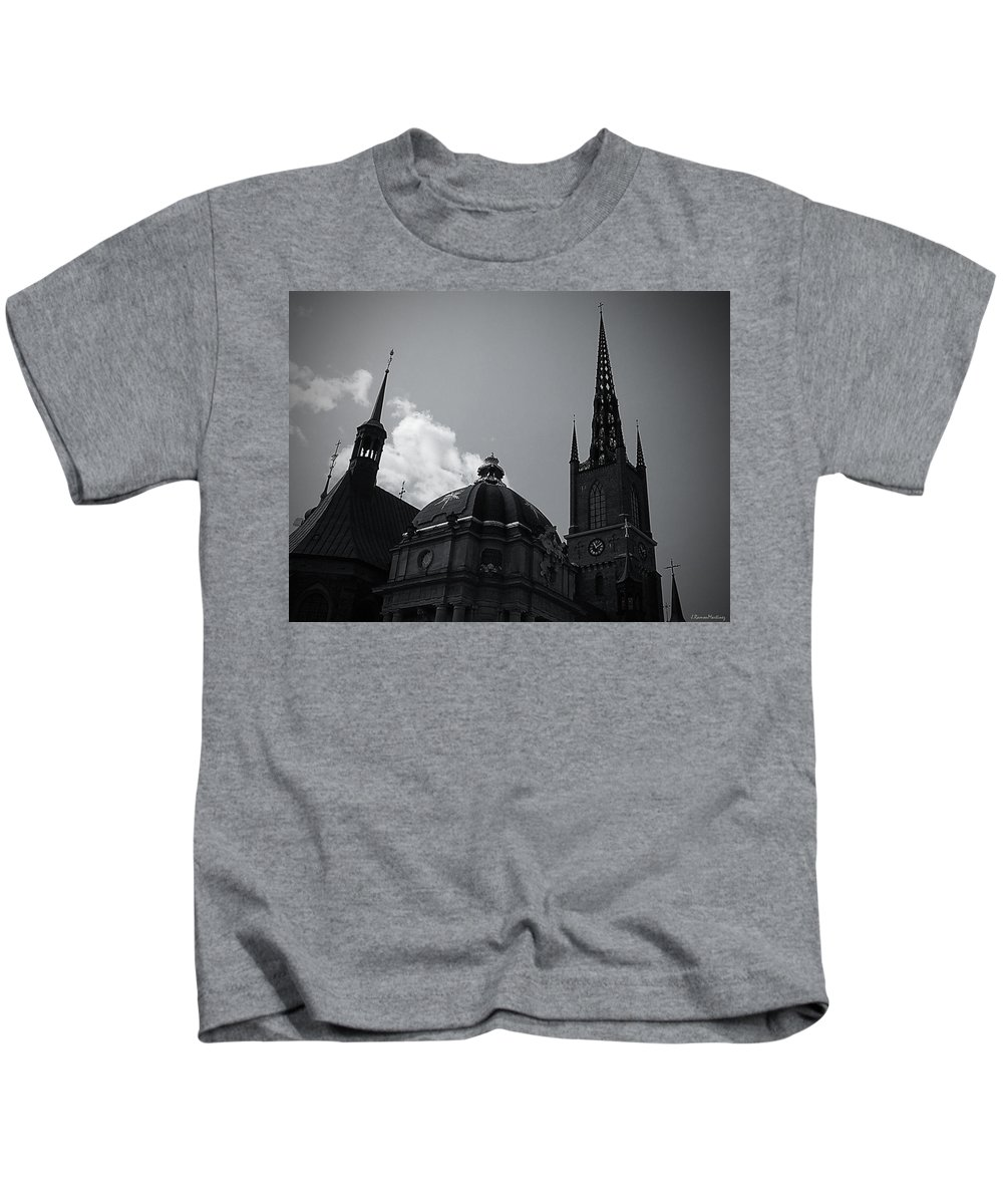 Stockholm Kids T-Shirt featuring the photograph Church I by Ramon Martinez