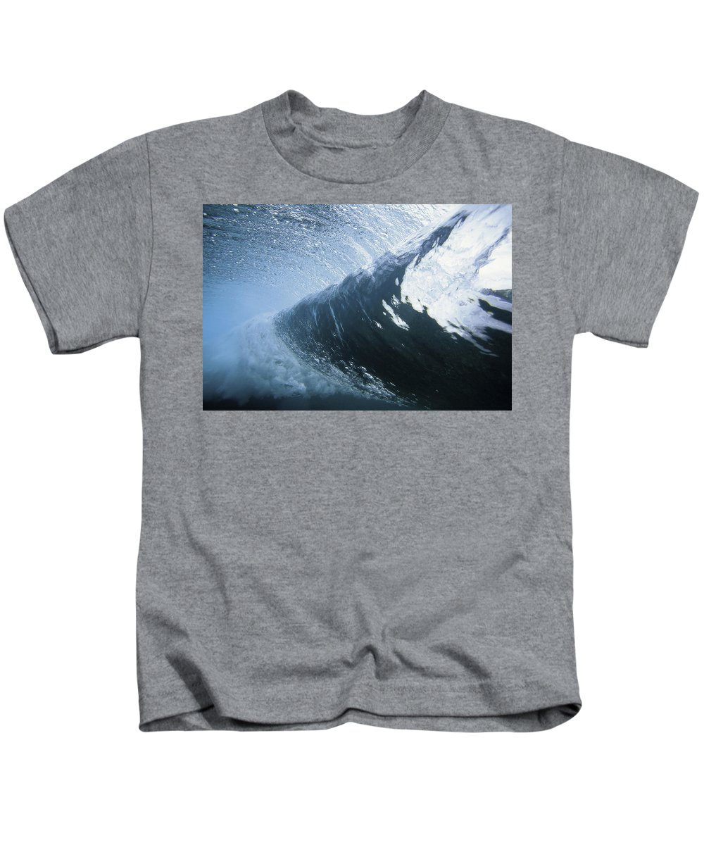 Curl Kids T-Shirt featuring the photograph Cloud 9 by Sean Davey