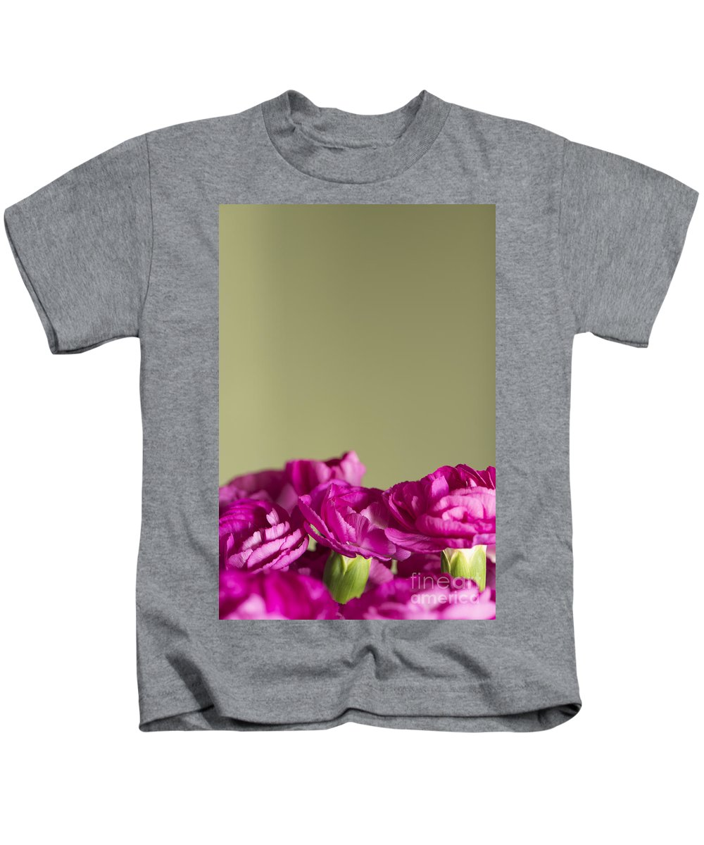 Darling Dianthus Kids T-Shirt featuring the photograph Darling Dianthus by Anne Gilbert