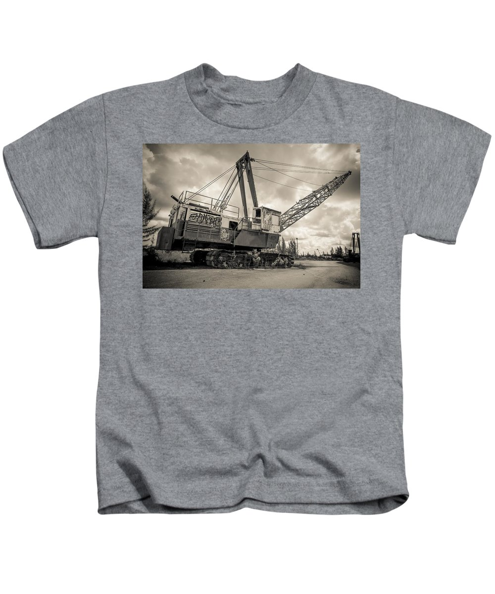 Old Kids T-Shirt featuring the photograph Decayed Glory - 2 by Rudy Umans