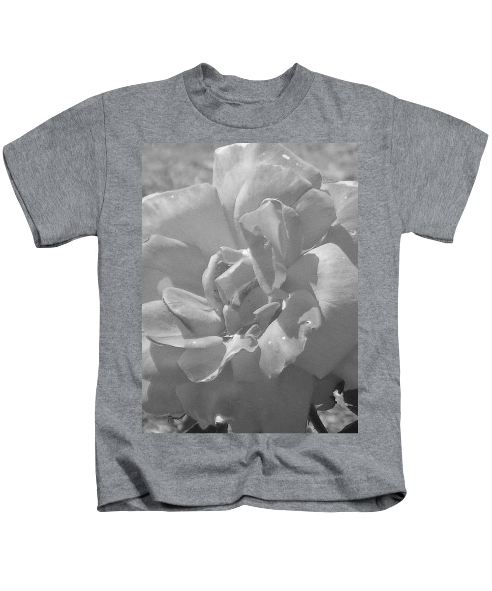 Rose Kids T-Shirt featuring the photograph Dew Rose by Pharris Art