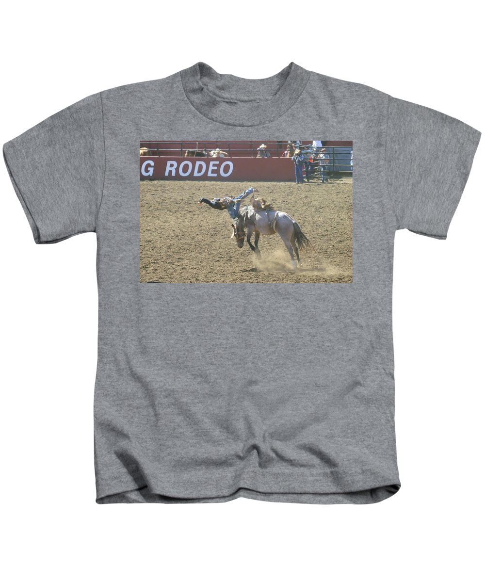 Sports Kids T-Shirt featuring the photograph Dumped by Jeff Swan