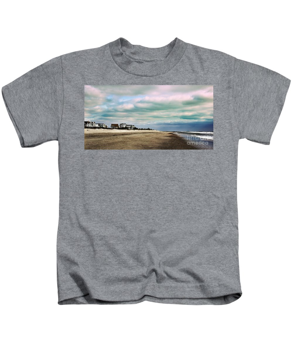 Nature Kids T-Shirt featuring the photograph Early Morning Townsends Inlet Cape May by Tom Gari Gallery-Three-Photography