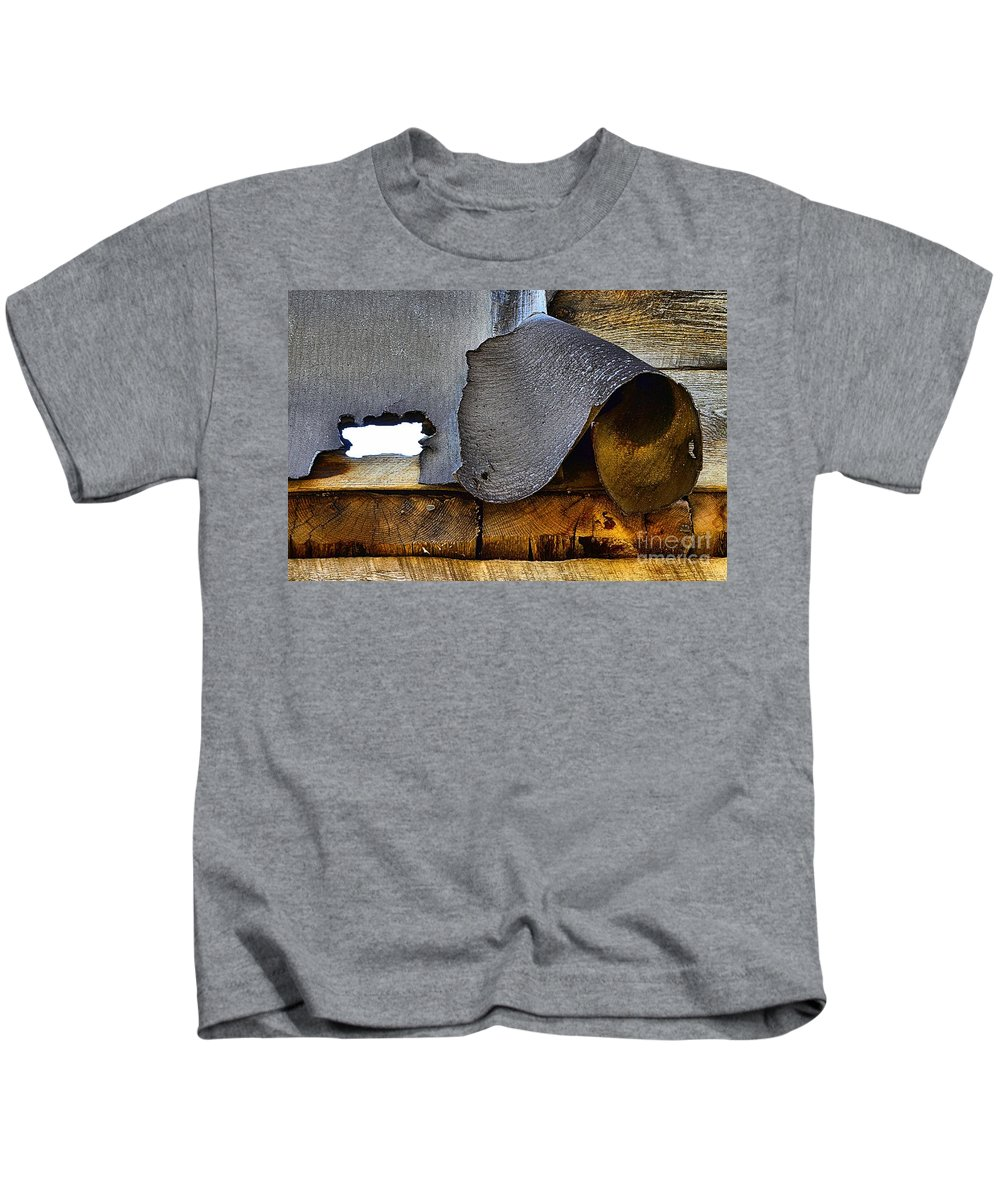 Abstract Kids T-Shirt featuring the photograph Expose by Lauren Leigh Hunter Fine Art Photography