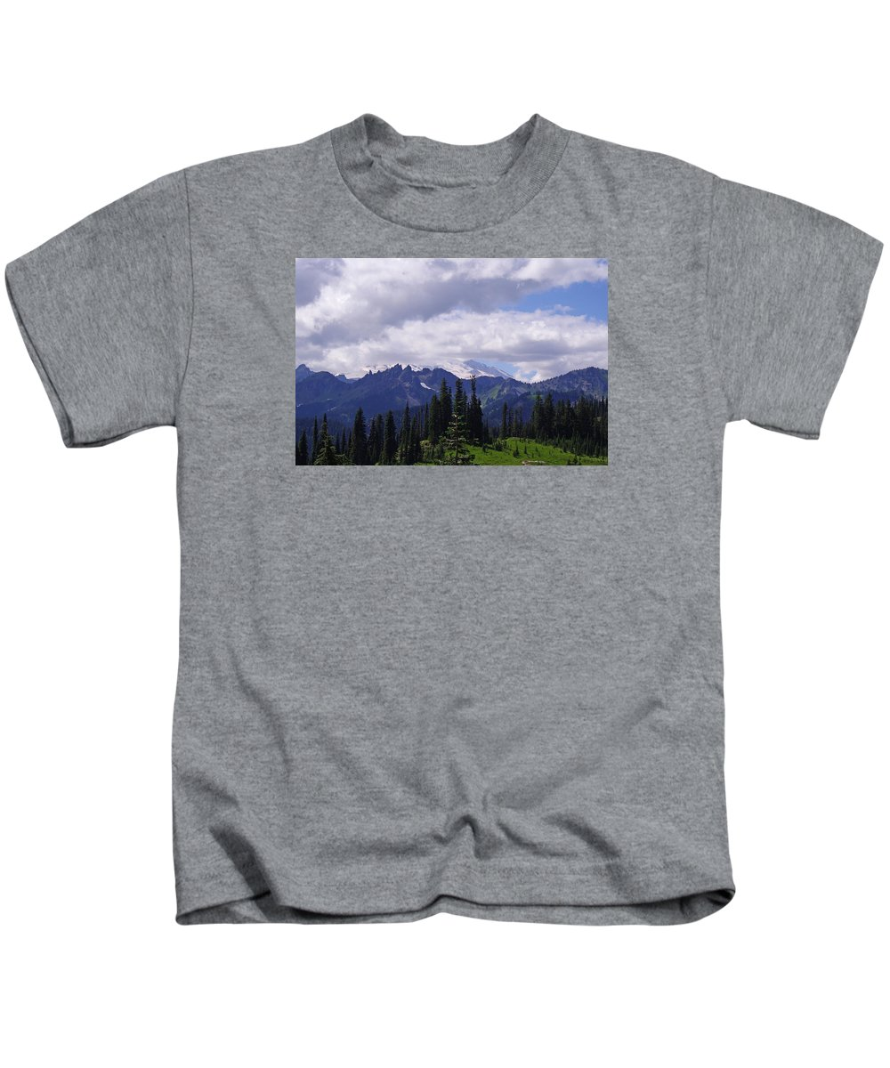 Extraordinary Kids T-Shirt featuring the photograph Extraordinary Heights by Mike and Sharon Mathews