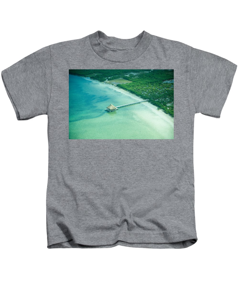 Belize Kids T-Shirt featuring the photograph Far Away by Zina Zinchik