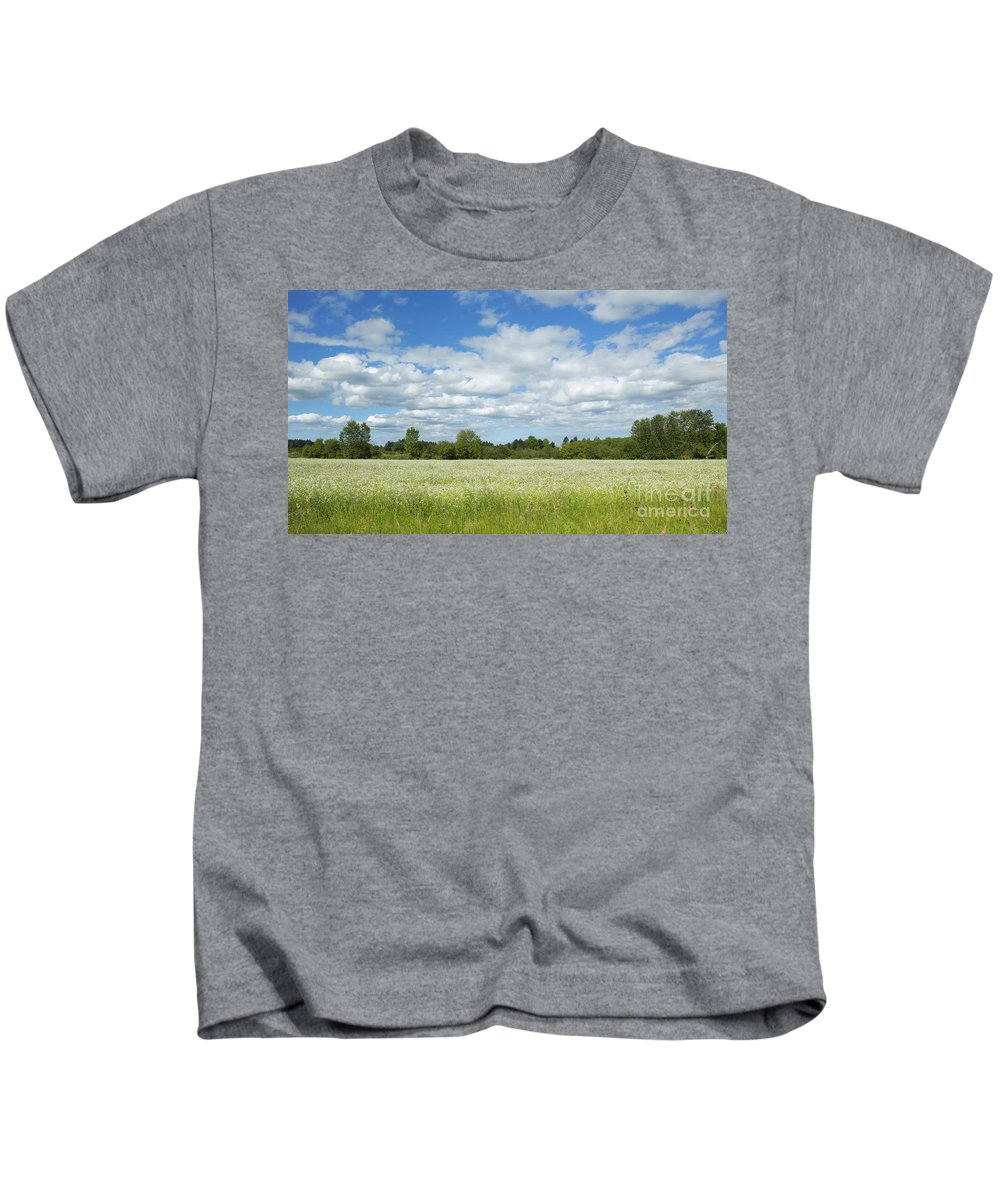 Pasture Kids T-Shirt featuring the photograph Field Of Dreams by Belinda Greb
