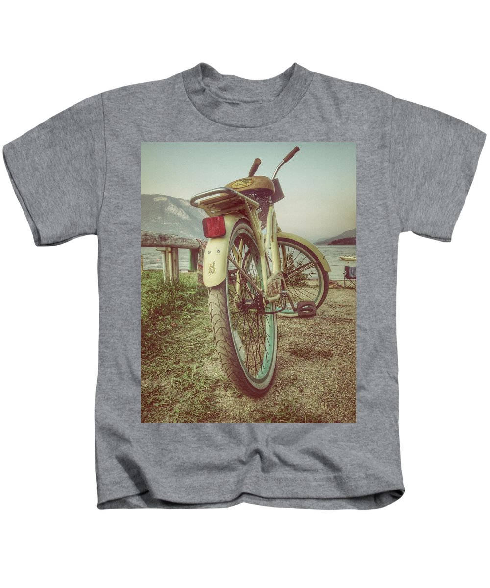 Landscapes Kids T-Shirt featuring the photograph Forever Twenty One by The Artist Project
