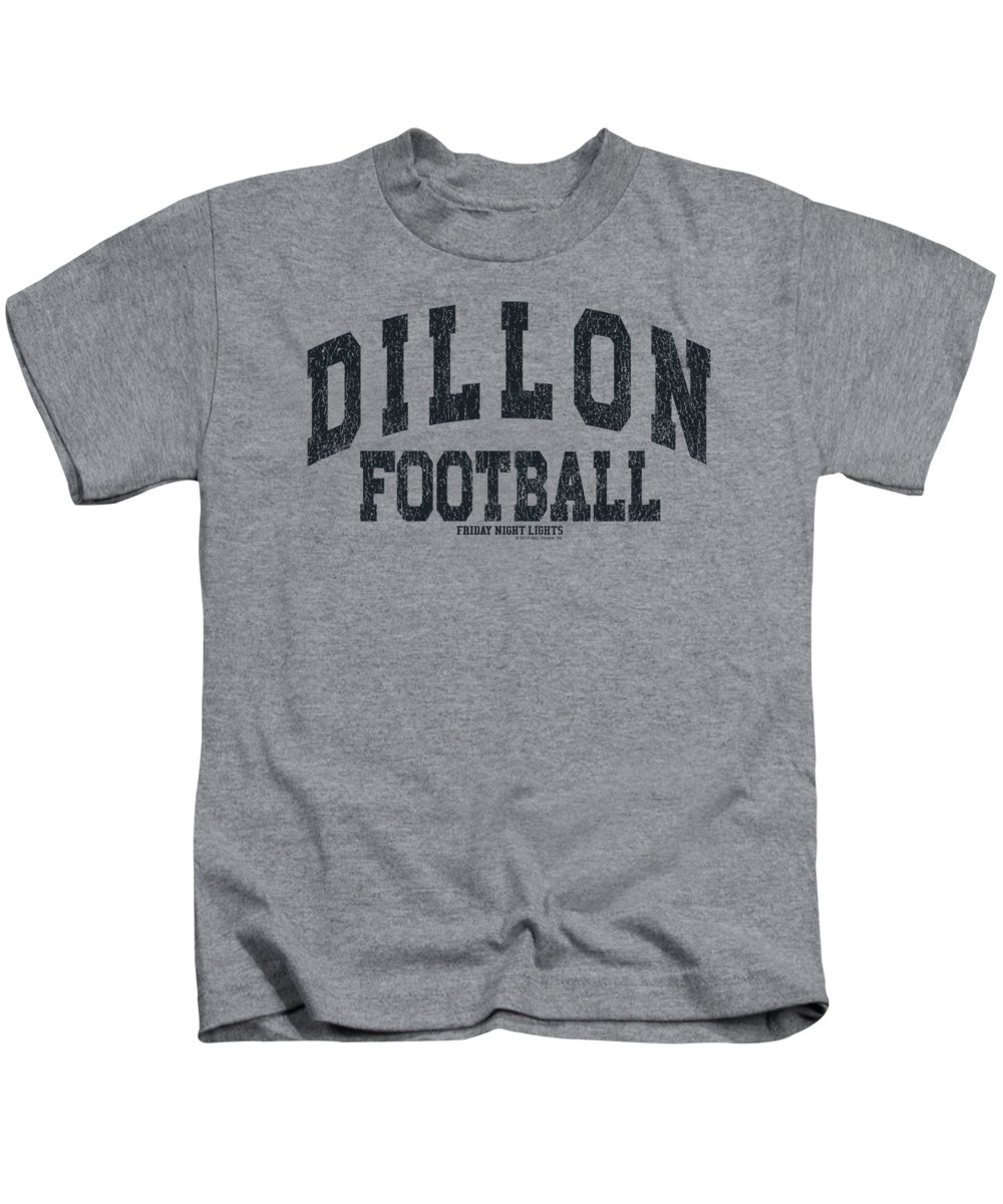 Kids T-Shirt featuring the digital art Friday Night Lights - Dillion Arch by Brand A