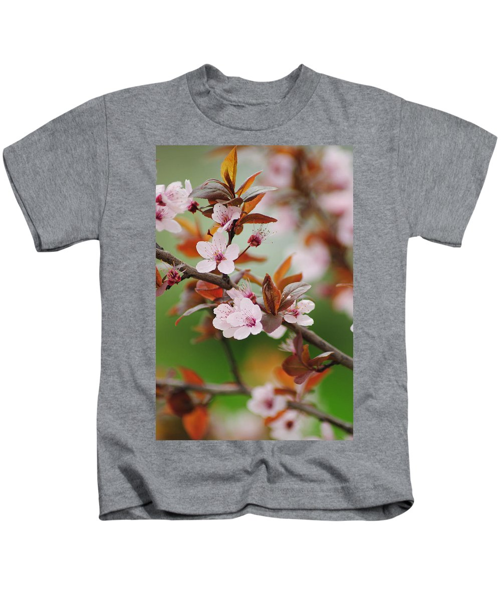 Bloom Kids T-Shirt featuring the photograph Full Bloom by Frozen in Time Fine Art Photography