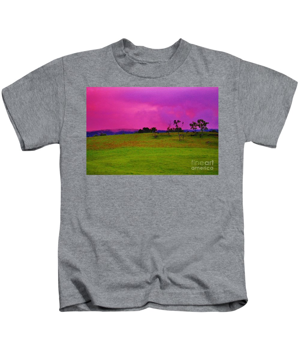 Kerisart Kids T-Shirt featuring the photograph God's Palace by Keri West