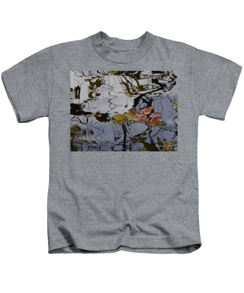 Kids T-Shirt featuring the photograph Harmoney Of Shapes And Colors by Nili Tochner