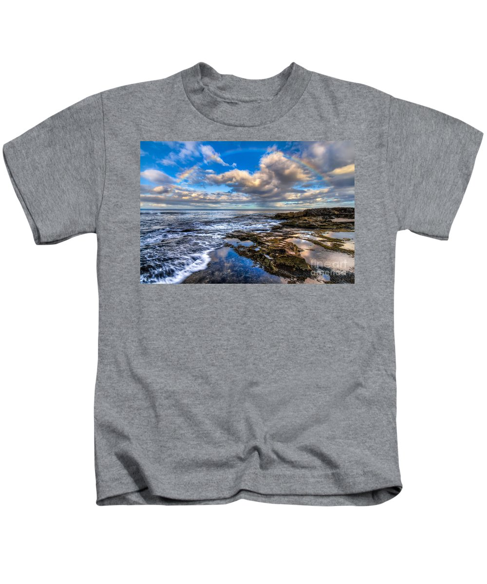 Hawaii Kids T-Shirt featuring the photograph Hawaiian Morning by Anthony Bonafede