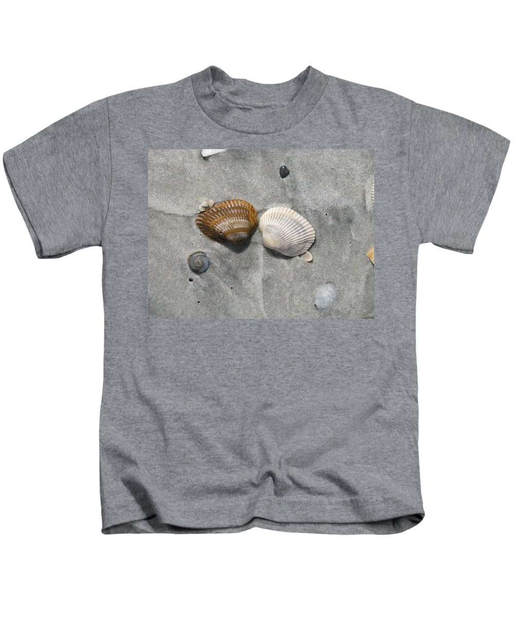 Landscape Kids T-Shirt featuring the photograph His And Hers by Ellen Meakin
