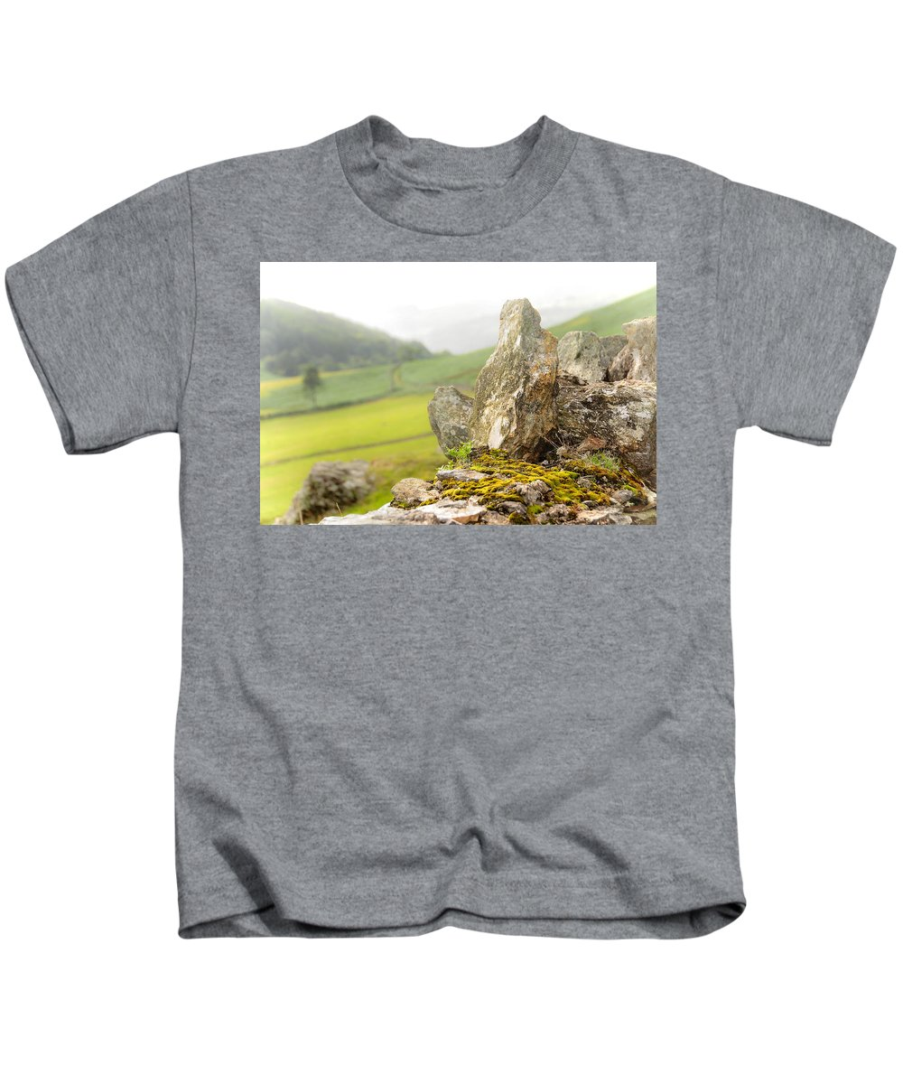 Jenny Rainbow Fine Art Photography Kids T-Shirt featuring the photograph History And Nature. Wicklow. Ireland by Jenny Rainbow
