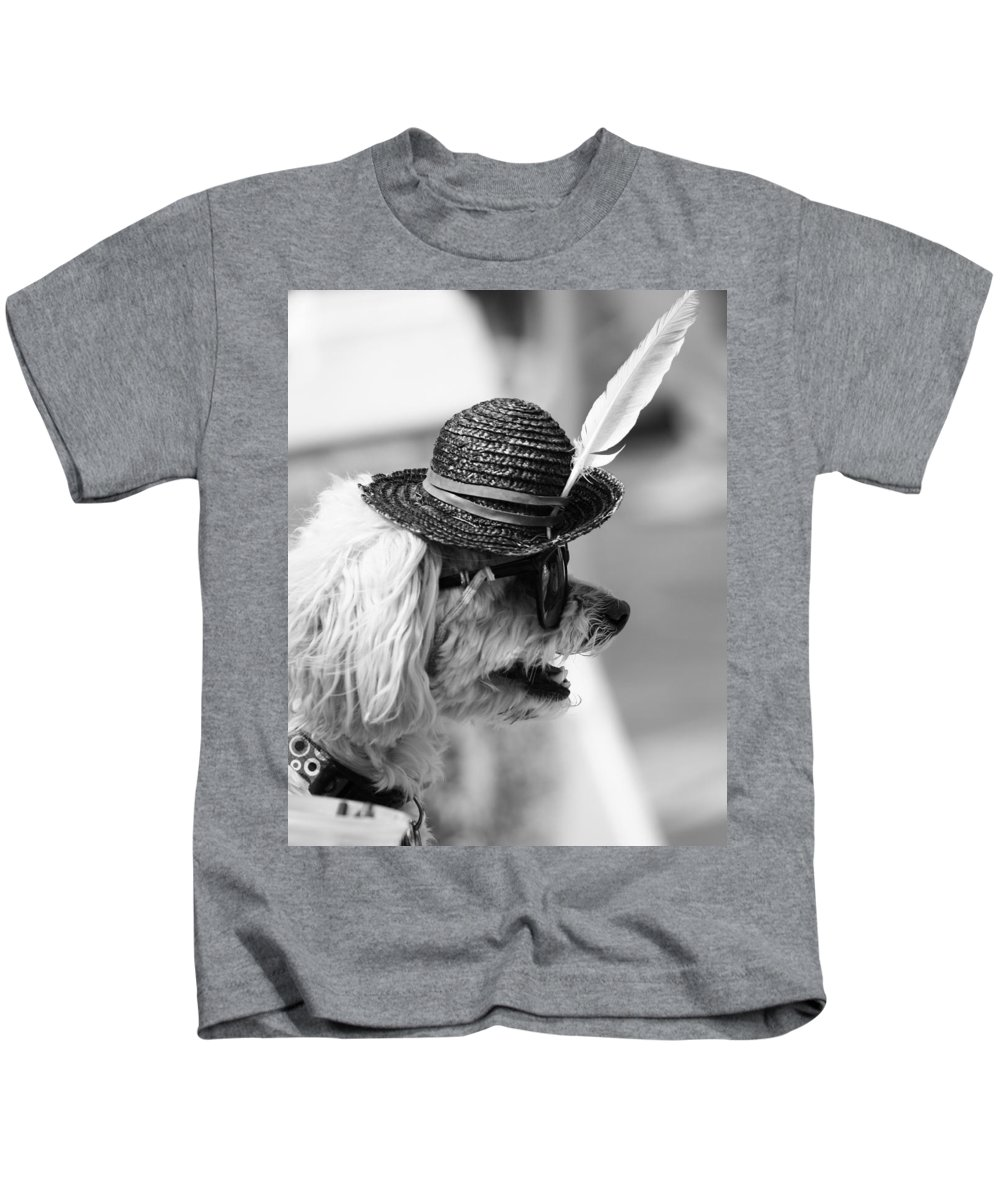Pride Festival Kids T-Shirt featuring the photograph Hotdog by The Artist Project