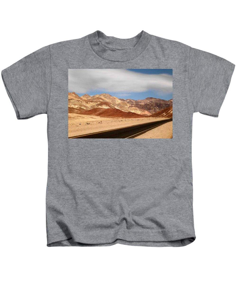 Desert Kids T-Shirt featuring the photograph I Think We're Alone Now by Sheryl Chapman Photography