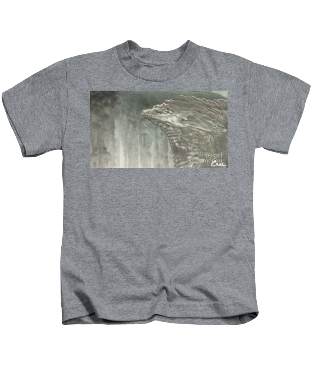 Night Kids T-Shirt featuring the photograph Ice Flow 16 by Feile Case