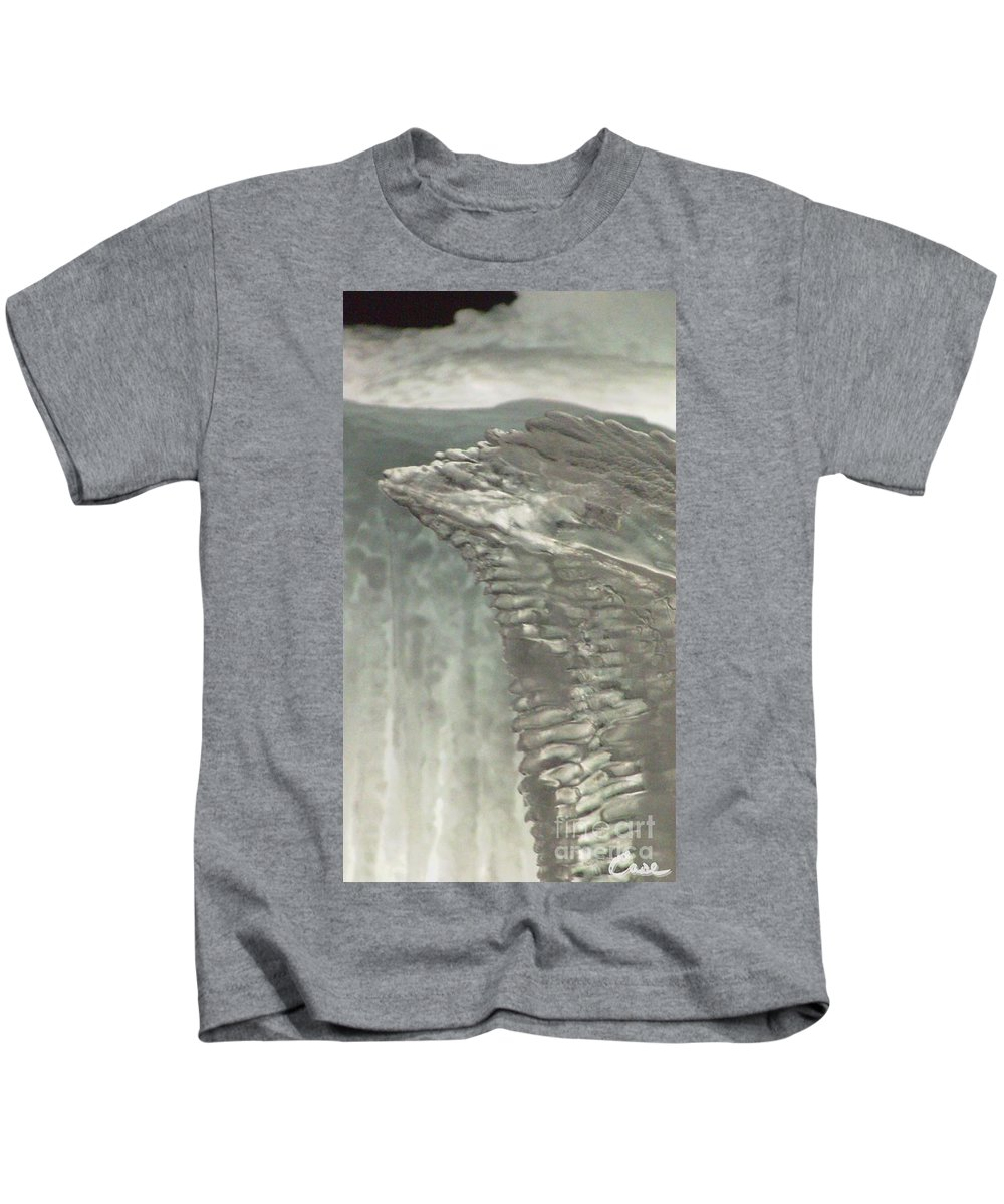Night Kids T-Shirt featuring the photograph Ice Flow 17 by Feile Case