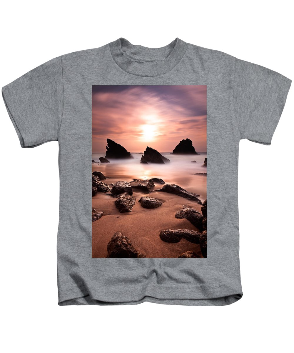 Beach Kids T-Shirt featuring the photograph Illusions by Jorge Maia