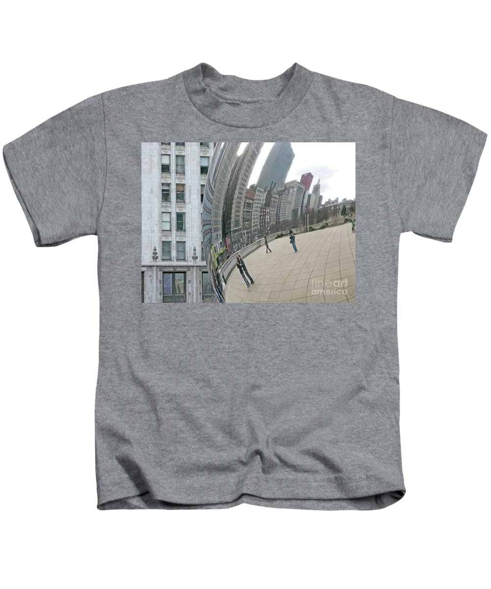 Chicago Kids T-Shirt featuring the photograph Imaging Chicago by Ann Horn