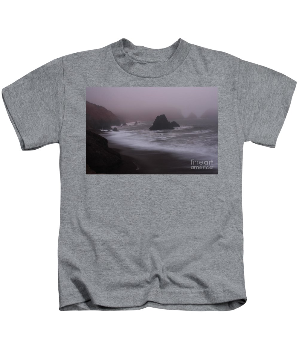 Fog Kids T-Shirt featuring the photograph In A Fog by Suzanne Luft