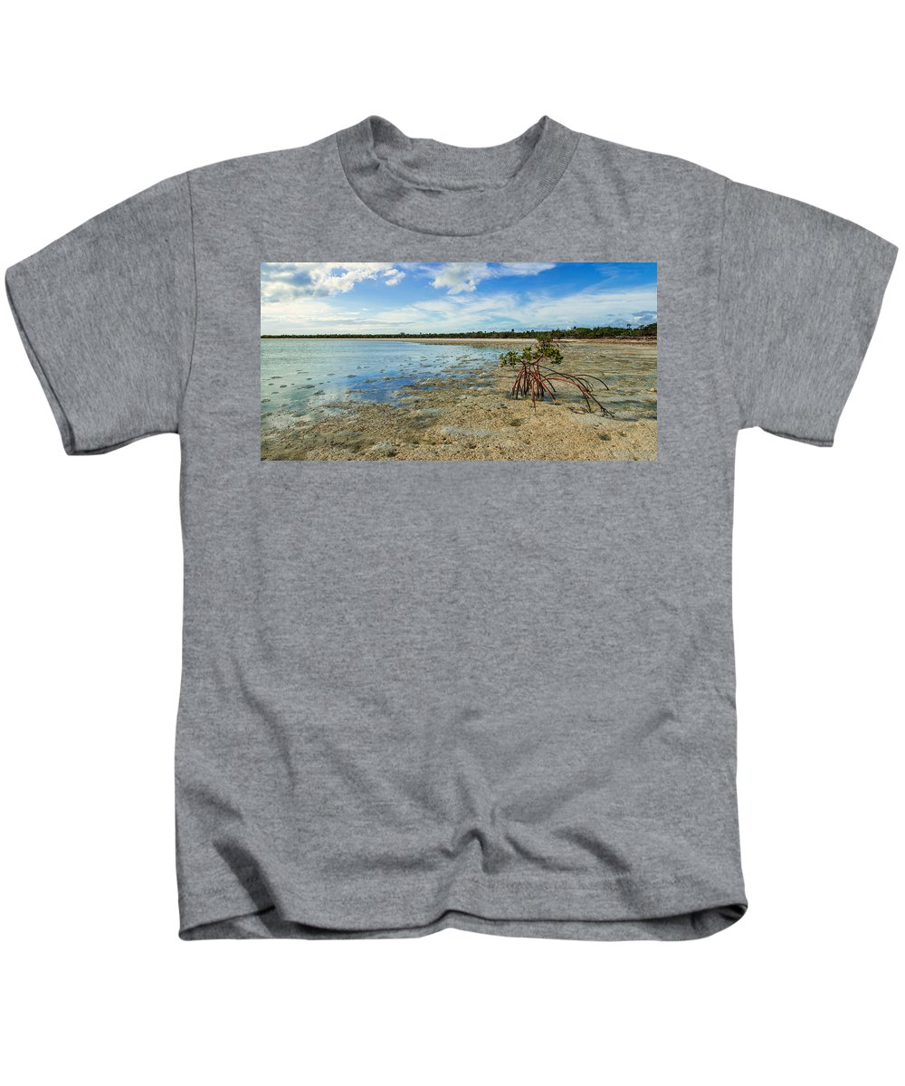 Caribbean Kids T-Shirt featuring the photograph Isolated by Chad Dutson