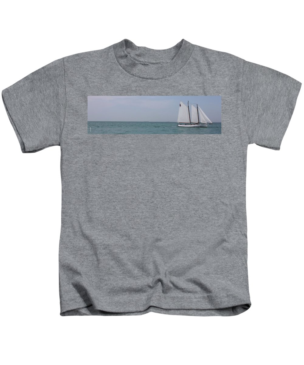 Joy Ride Kids T-Shirt featuring the photograph Joy Ride by Ed Smith