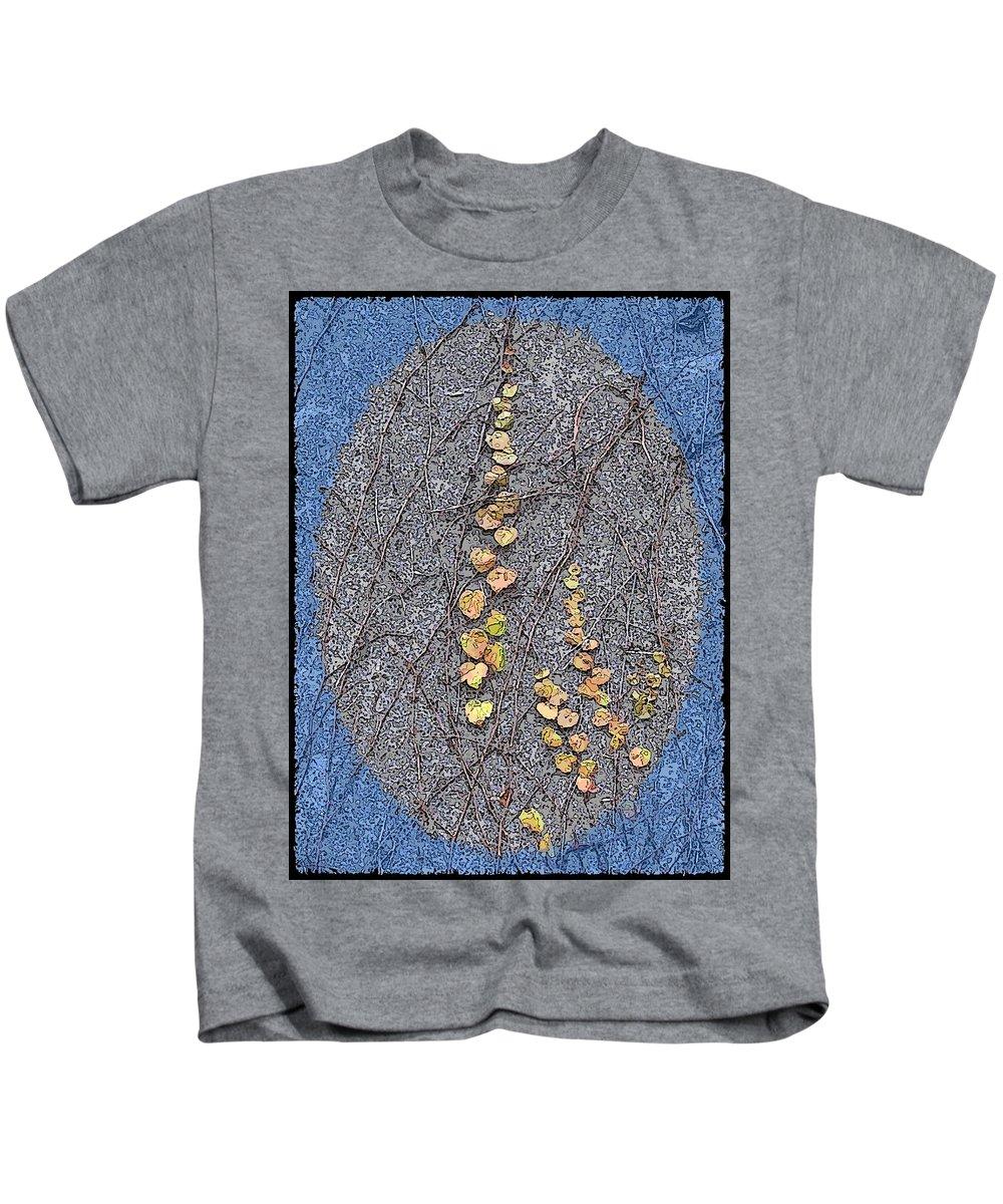 Ivy Kids T-Shirt featuring the digital art Just Hanging Around 3 by Tim Allen