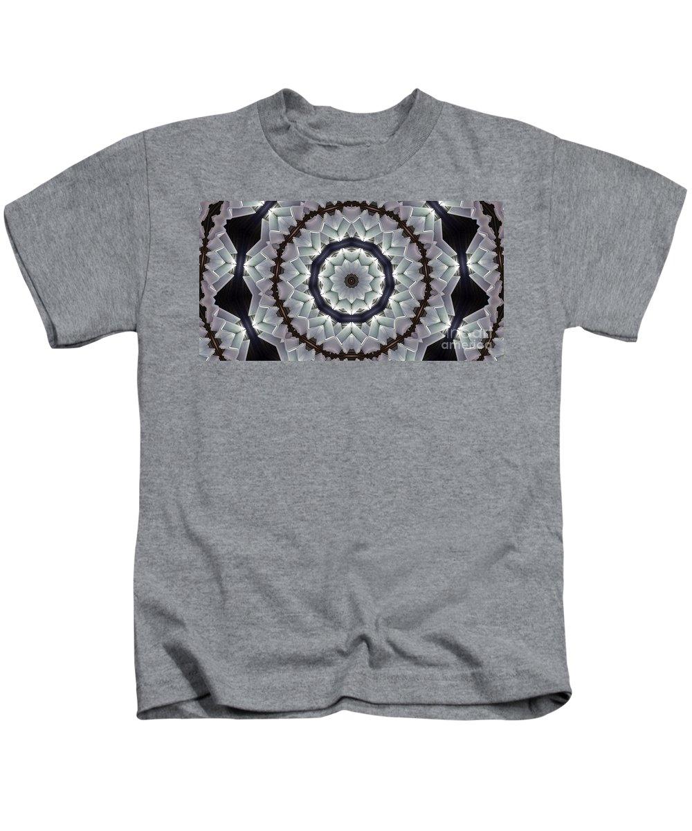 Kaleidoscope Kids T-Shirt featuring the photograph Kaleidoscope 63 by Ron Bissett