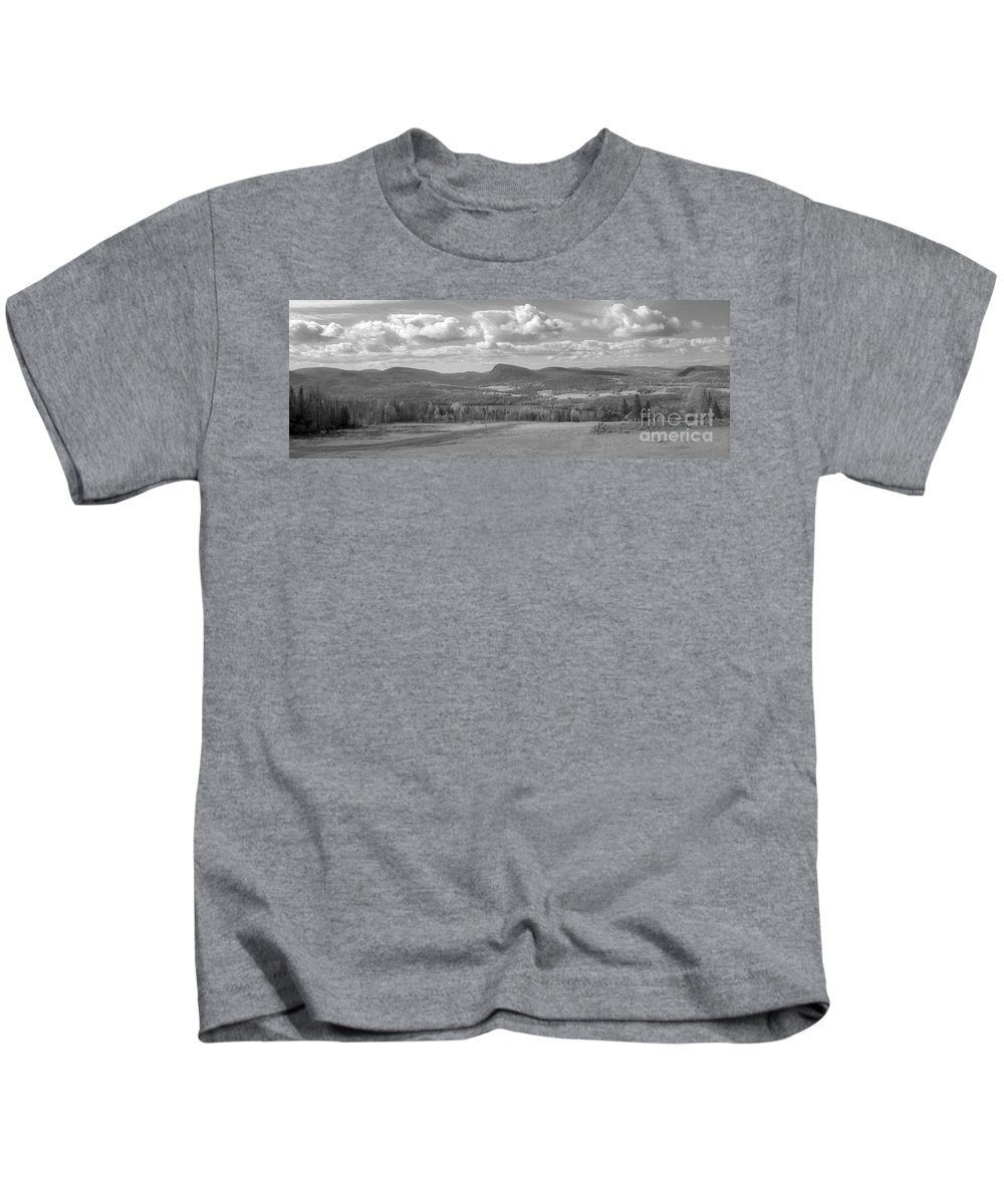Lake Willoughby Kids T-Shirt featuring the photograph Lake Willoughby Vermont by Richard Rizzo