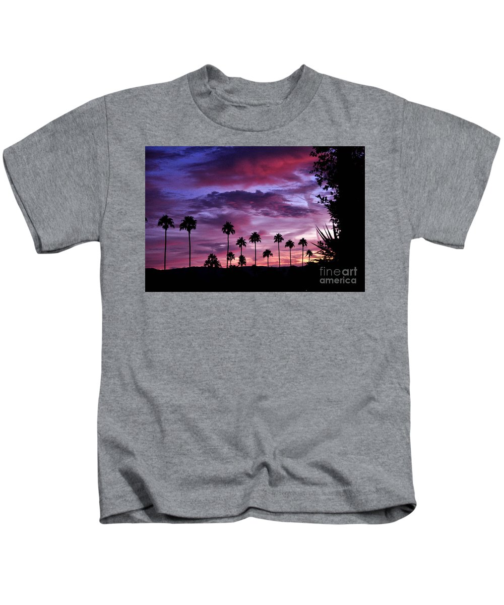 Lavender Kids T-Shirt featuring the photograph Lavender And Pink by Jay Milo