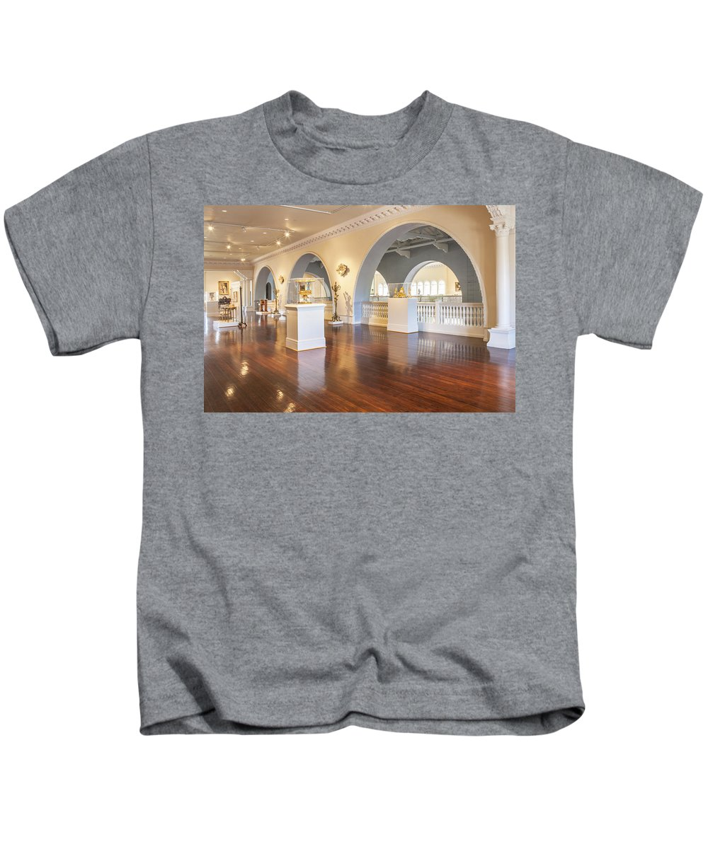 Lightner Museum Kids T-Shirt featuring the photograph Lightner Museum 7 by Rich Franco