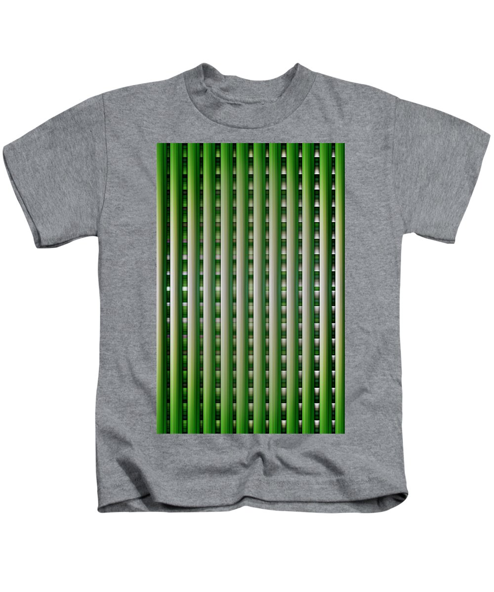 Lines Kids T-Shirt featuring the digital art Line Line And More by Nathan Wright