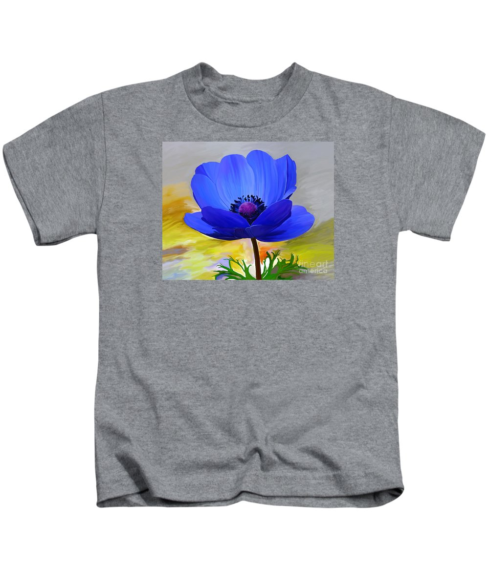 Fine Art Kids T-Shirt featuring the painting Lord Lieutenant by Patricia Griffin Brett